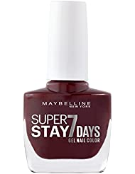 Maybelline New York Fond de teint Superstay nailpolish Forever Strong 7days Finition Gel Vernis à Ongles Midnight...