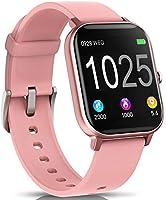 AIMIUVEI Smartwatch, Reloj Inteligente IP67 con Pulsómetro, Presión Arterial, 7 Modos de Deportes y GPS, Monitor de...