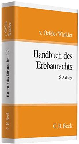 Handbuch des Erbbaurechts