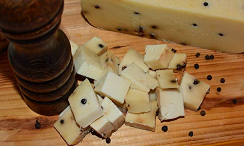 Pecorino al Pepe Nero 1,3 kg - Salumificio Artigianale Gombitelli - Toscana