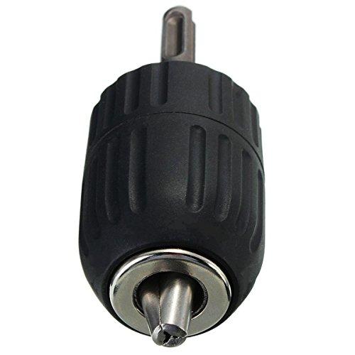 """Drillpro Schnellspannbohrfutter 2–13mm Bohrfutter Schnellspann mit 1/2"""" SDS Plus Adapter - 6"""