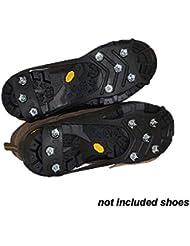3fe67ad4b9 Crampons 8 Dents Escalade Traction Randonnée Crampons Anti-glissement  Couvre-Chaussures Pinces À Glace