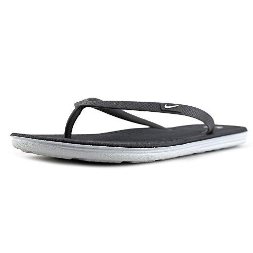 Nike NIke Wmns Solarsoft Thong II, Ciabatte da spiaggia uomo Nero nero (grigio)