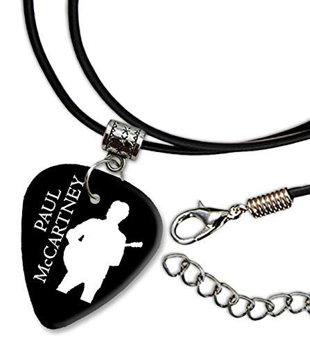 Paul McCartney Design 2 Gitarre Plectrum Cord Halskette Necklace BWEG
