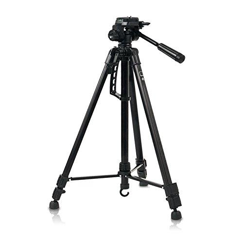 HAUSER & PICARD Universal Alpha 3 Kamera-Stativ von eSmart Germany | Leichtes Tripod-Stativ aus Aluminium | für Video und Foto
