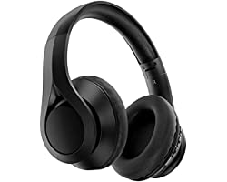 Kids Headphones Over Ear, Wireless and Wired, 60H Playtime Wireless 5.0 HiFi Stereo Headphones with Soft Memory Protein Earmu