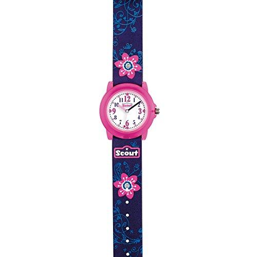 SCOUT Mädchen Analog Quarz Uhr mit PU Armband 280305028 - 2