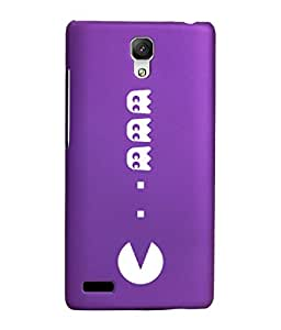 KolorEdge Printed Back Cover For Xiaomi Redmi Note - Purple (1971-Ke15192RedmiNotePurple3D)