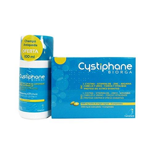 Cystiphane Hair & Nail Pack 120 Pilules + Shampooing Anti-cheveux 100 Ml