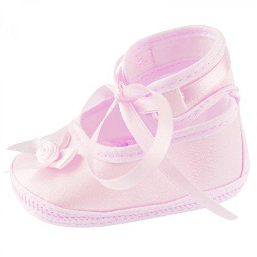 he Leder Sandalen Taufe Junge Mädchen Lauflernschuhe, Baby Farbe:Rosa;Babyschuh Größe:9cm (Hochzeit Beratung-box)
