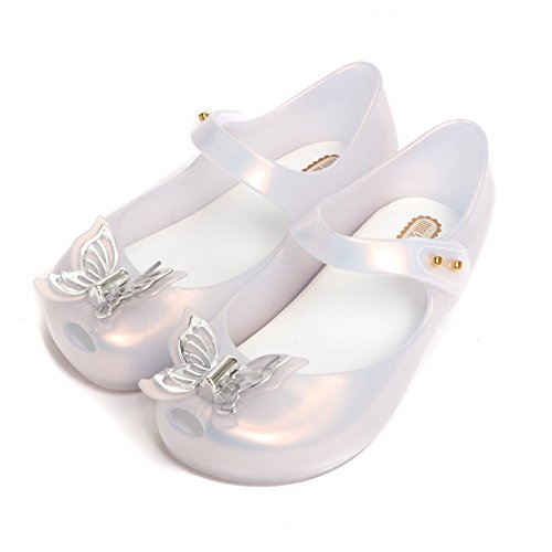 Melissa Shoes Mini Ultragirl Butterfly 22/23 Frost (Shoes Melissa Jelly)
