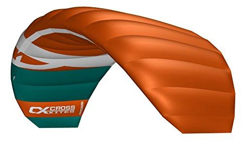 Cross Kites 3,5m Quattro Vier Line Power Stunt Kite (Rot)