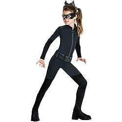 Rubies - Disfraz de Catwoman para niña, producto oficial de DC Comics, 10–11años
