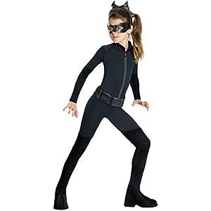 Rubie's Official DC Comics Batman Catwoman, Children Costume, Large 8-10 Years