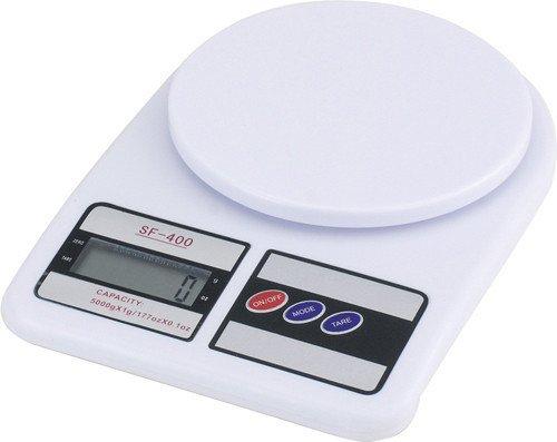 Sprechende digitale Küchenwaage 5 kg - 500 g. Waage Professionelle Präzisions LCD Display