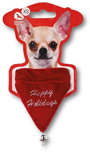 Doxtasy Holiday Christmas Dog Bandana (XS) (Bandana Kurze)