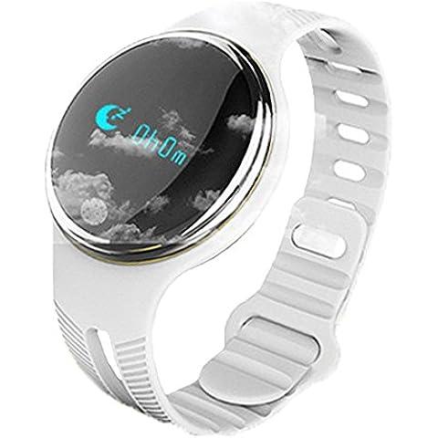 Smart Wristband Pedometro, braccialetto di sport, Tracking Sonno monitoraggio Salute Orologio da polso Bluetooth 4.0impermeabile
