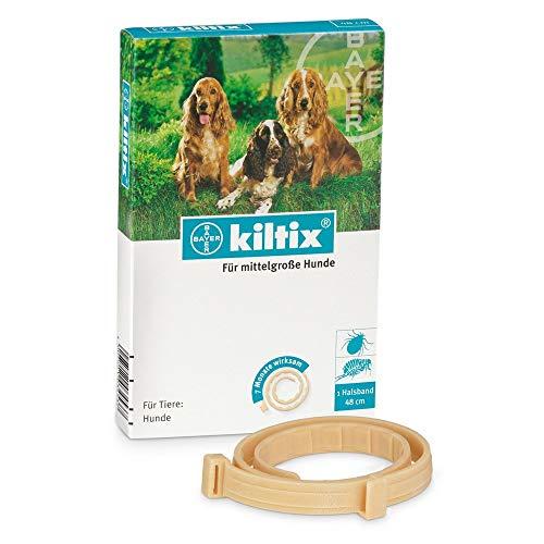 Heads Up For Tails Bayer Kiltix Collar for Fleas and Ticks (Medium)