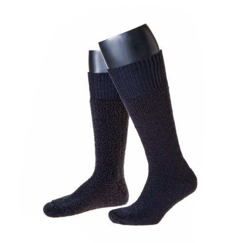 Thermo-Stiefel-Socken Made in Germany im 2er Pack (39-42, marine)
