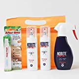 Sparpack: 1x 100 ml Haut-Moskito-Mückenspray und 1x 200ml Mückenschutz Kleidung-Spray+ RennerXXL UV-Schutz Lippenpflegestift und Kulturbeutel       Nobite ist der Klassiker unter den Mückenschutz-Sprays - weltweit. Sowohl das Haut-Spray, als ...