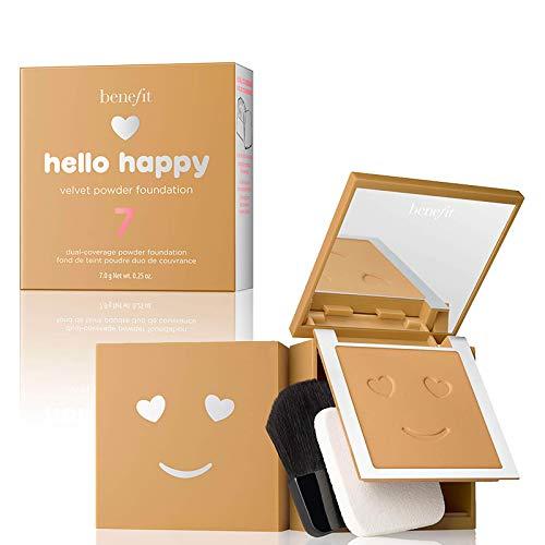 Hello Happy Velvet Powder Foundation Nr. 07 Medium-Tan 7 g