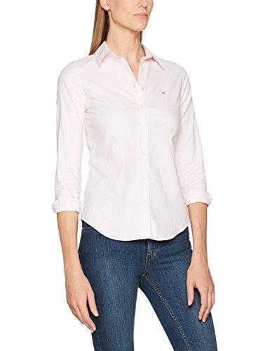 GANT Damen Hemd Stretch Oxford Banker Shirt, Rosa (Light Pink), 12 (Herstellergröße: 38) Preisvergleich