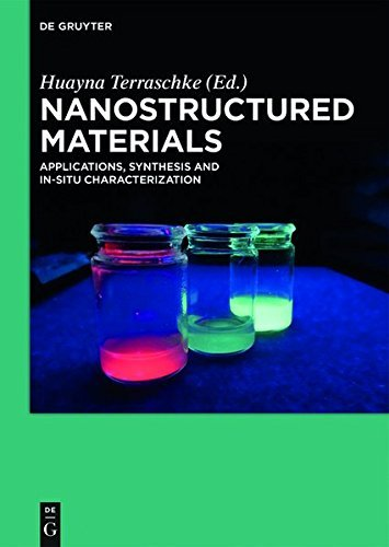 Nanostructured Materials: Applications, Synthesis and In-Situ Characterization (English Edition)