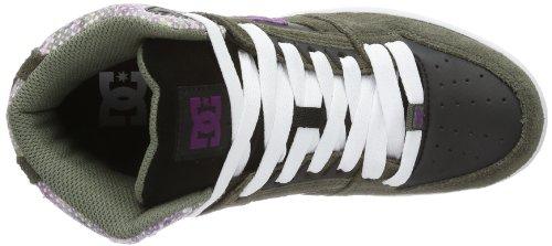 DC REBOUND HI SE 320028-1BF Herren Sneaker Grau (DSTY OLV)