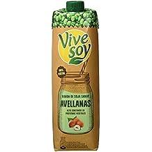 Vivesoy Soja sabor Avellanas - Paquete de 6 x 1000 ml - Total: 6 L
