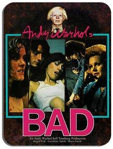 Andy Warhol Bad alfombrilla ratón. Cult película