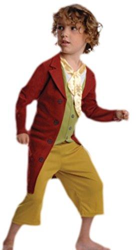erdbeerloft - Jungen Der Hobbit, Bilbo Beutlin Kostüm, Karneval, 110, Mehrfarbig