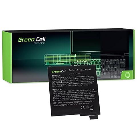Green Cell® Standard Série Batterie pour Tatung N755II8 Ordinateur PC Portable (8 Cellules 4400mAh 14.8V Noir)