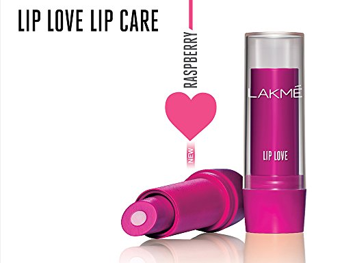 Lakme Lip Love Lip Care, Raspberry, 3.8g