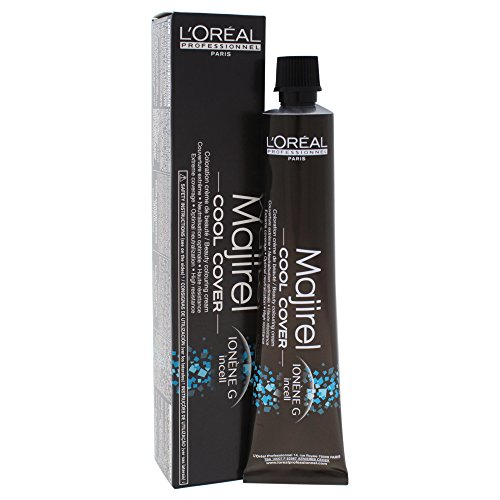 L'Oréal Professionnel Majirel Cool Cover - 8,11 hellblond tiefes asch, Tube, 50 ml