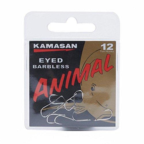Kamasan Tier Angelhaken - Größe 12 Angeln Gear One Color, Einheitsgröße