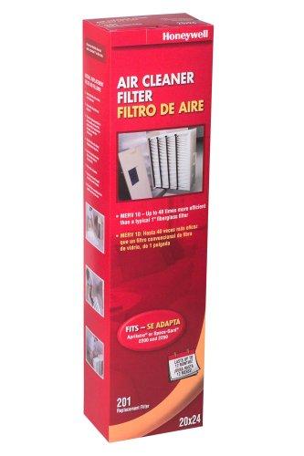 Honeywell CF2200A1005 4-Inch High-Efficiency Collapsible Air Cleaner Filter by Honeywell (Honeywell 4-filter)
