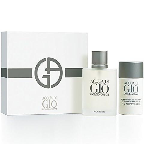 Giorgio Armani Acqua Di Gio Geschenkset 100ml EDT + 75ml Deodorant Stick