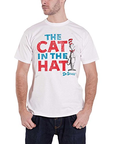 Cat In The Hat Text Logo Nue offiziell Herren ()