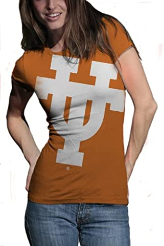 My U Texas Longhorns Gigantor Short Sleeve Tee, damen, Texas Longhorns