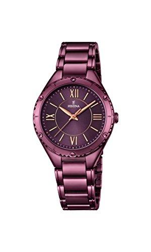 Festina F16924/2 – Reloj de pulsera analógico para mujer con mecanismo de cuarzo y correa de acero inoxidable