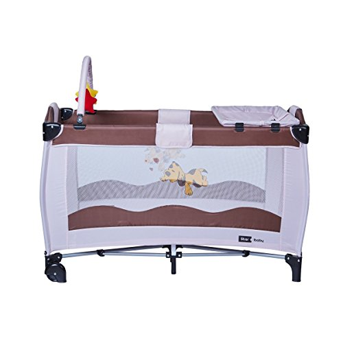 Cuna plegable para bebé Star Ibaby AC002 Sleep & Play
