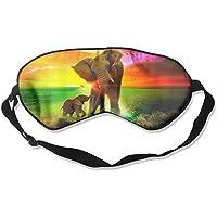 Comfortable Sleep Eyes Masks Elephant Rainbow Sea Pattern Sleeping Mask For Travelling, Night Noon Nap, Mediation... preisvergleich bei billige-tabletten.eu