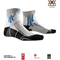 X-Socks Run Speed Two Socks, Unisex Adulto, Pearl Grey/Opal Black