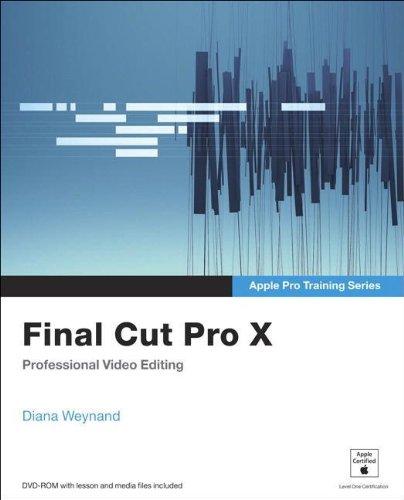 Preisvergleich Produktbild Apple Pro Training Series. Final Cut Pro X