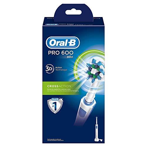 Oral-B PRO 600 CrossAction – Wiederaufladbare elektrische Zahnbürste - 7