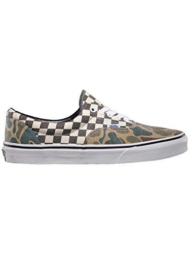 Vans - U Era Navy, Sneakers unisex (van doren camo/white checker)