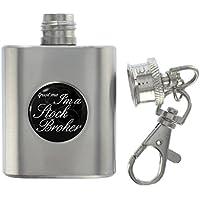 Trust Me I'm a Courtier métal miniature flasque porte clé