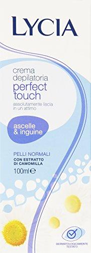 Lycia - Crema Depilatoria Ascelle & Inguine, Pelli Normali - 100 ml
