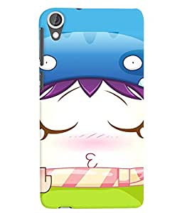 Citydreamz Cute Cartoon/Funny/Faces/Smileys/Abstract Hard Polycarbonate Designer Back Case Cover For HTC Desire 828