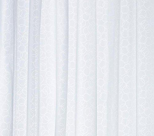 IKEA Duschvorhang INNAREN weiß 180 x 200 cm aus PEVA - 2
